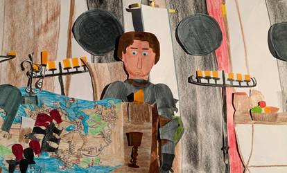 Richard Madden as Robb Stark by movieman410