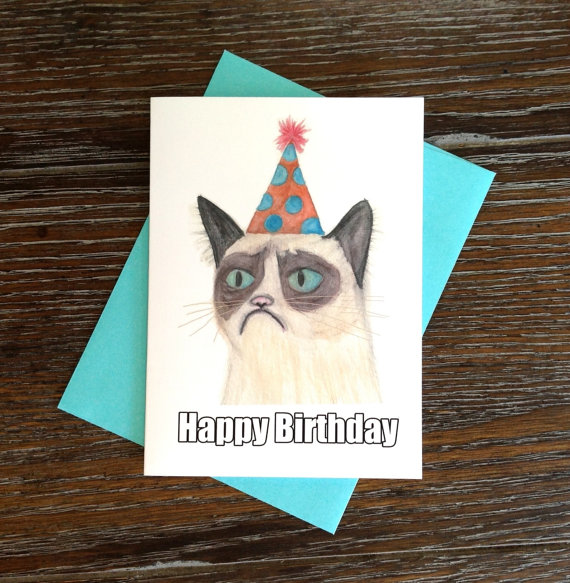 Grumpy cat birthday card by hippomoose33 on deviantart grumpy cat birthday card by hippomoose33 bookmarktalkfo Image collections