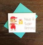 Depixel Super Mario Birthday