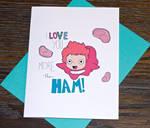 Ponyo Love Card