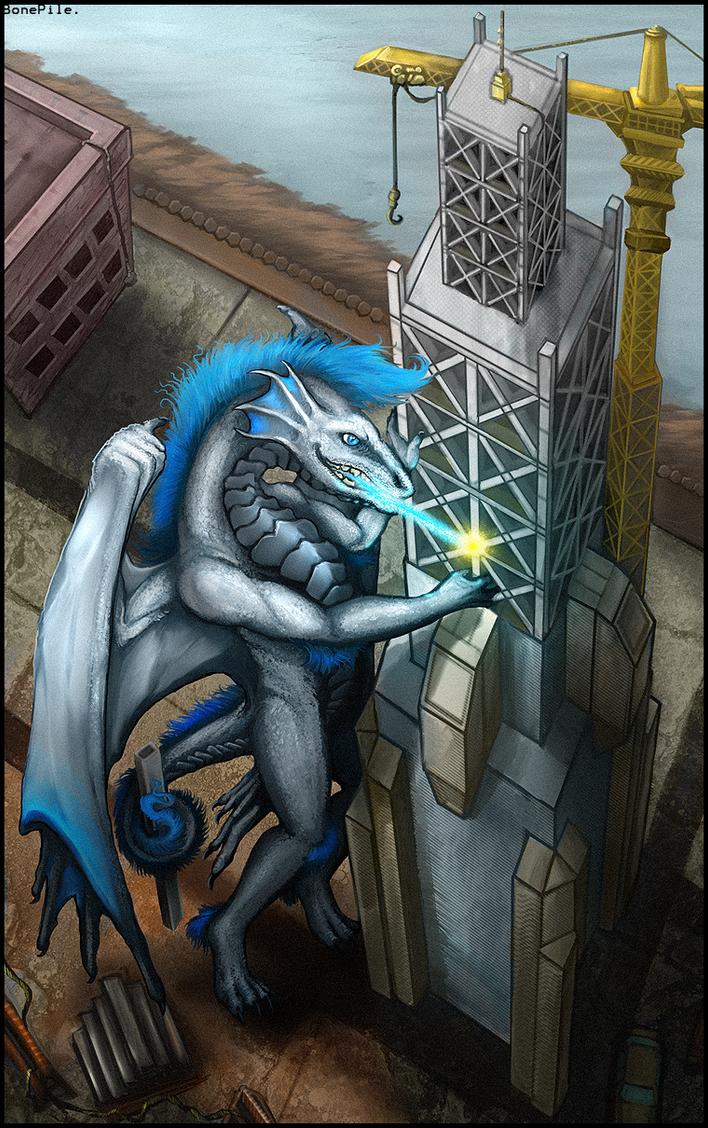 So you subcontractored a drago by BonePileStudio