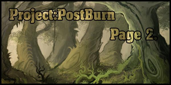 Project::Postburn::Page 2. by BonePileStudio