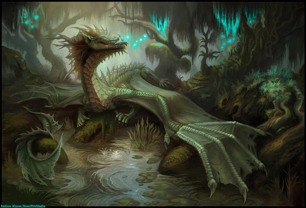 Swampish Beasts by BonePileStudio