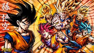 Dragon Ball Legends - The Legend of Goku