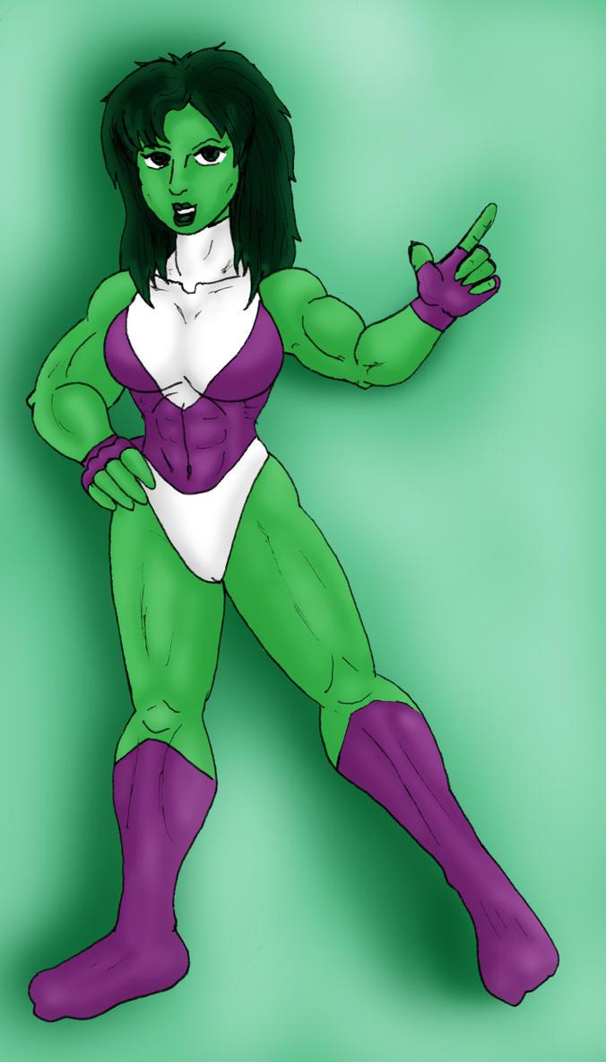 Old 04 She-Hulk image by CycKath
