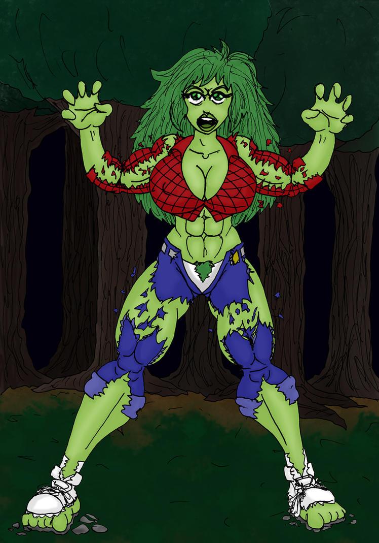 FMM - Jennifer Hulk-Out Part 3 by CycKath