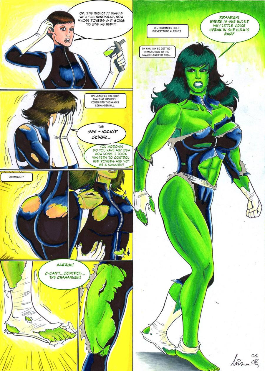 Maria Hill Hulk-Out - Manic by CycKath on DeviantArt