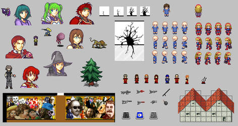 Spriting Collection by banthesun