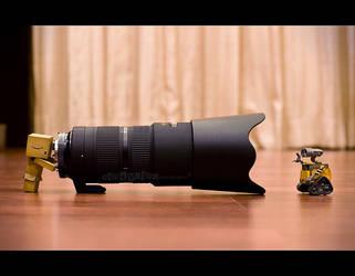 Wall-E, U'r so big hahaha by 800ZZ