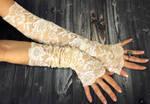 glove for glove by HAREMDESIGN