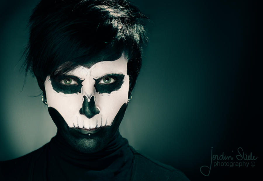 Skull Jaw Face Paint