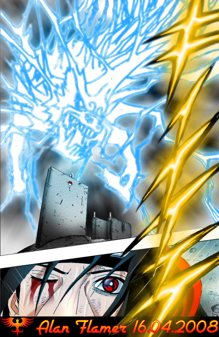 Yondaime Hokage no Chikara ! Sasuke_Kirin_by_Alan_Flamer