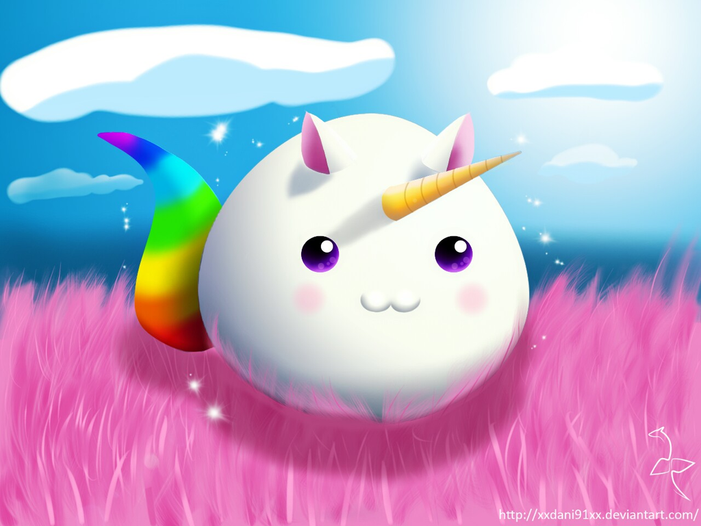 Unicorn Slime by xXDani91Xx on DeviantArt
