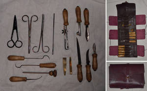 18th Century Pocket Surgeon's Set by paul-rosenkavalier