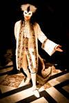 Ivory Velvet Coat by paul-rosenkavalier