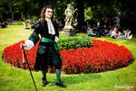Black and Green Frock Coat