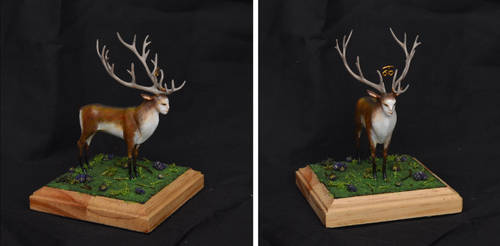 Deer from The Endless Forest by paul-rosenkavalier