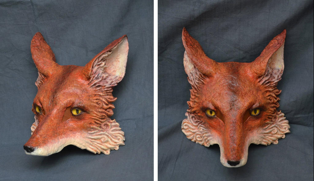 Fox Mask by paul-rosenkavalier