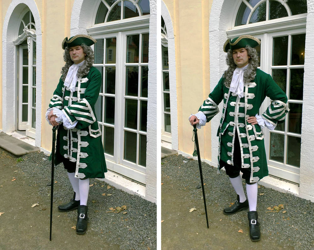 Green and Silver Frock Coat
