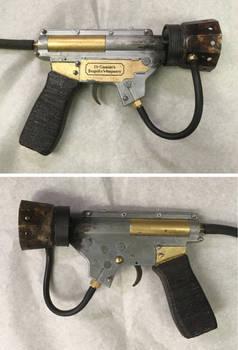 Steampunk Flamethrower Pistol