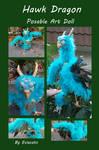 Hawk Dragon for Secret Santa by Eviecats