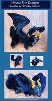 Heyoa The Posable Dragon Art Doll