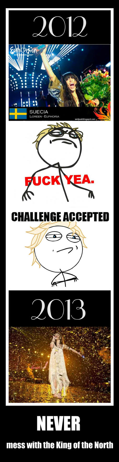 Hetalia motivational - NEVER mess with the King by Nekarim