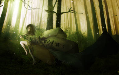 Sylvan Spirit by emilieleger