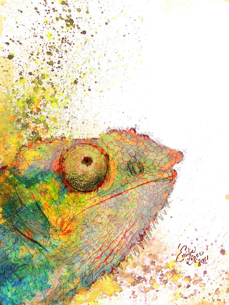 Karma Chameleon by emilieleger