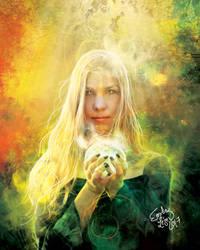 L'Automne et ses Muses III - Blonde by emilieleger