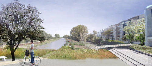 Photomontage Canal