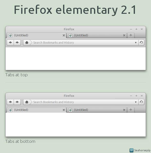 Firefox elementary 2.1