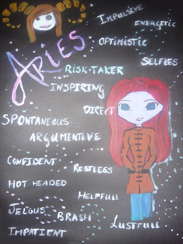 Aries Traits Aries traits by cherry-sparks