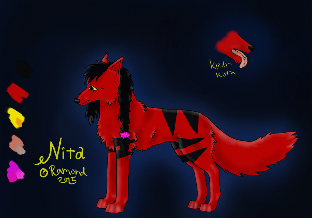 Nita - ref sheet by ramond997