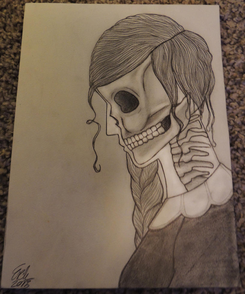Skull lady by ramond997