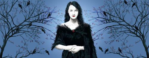 Raven Queen by lynnet