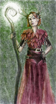 Keyleth with Short Hair