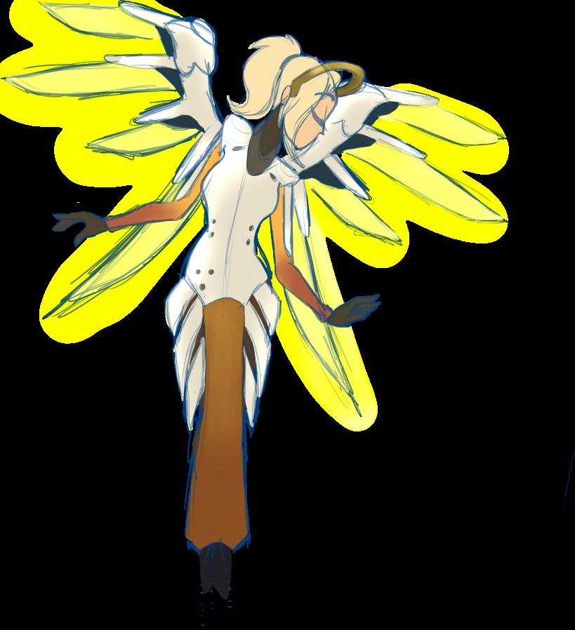 Mercy doodle by xEnderQueenx