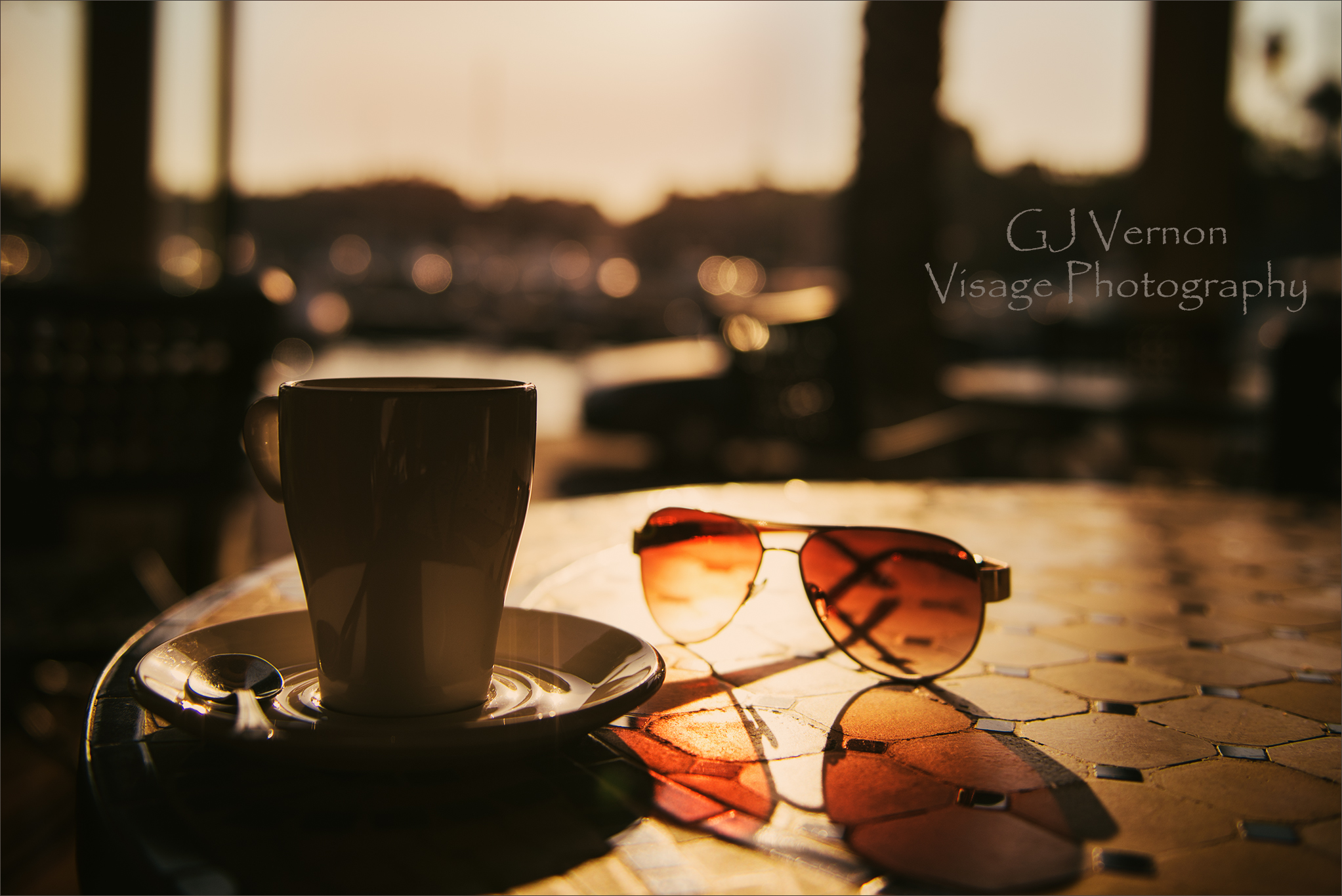 Coffee in Sotogrande by GJ-Vernon