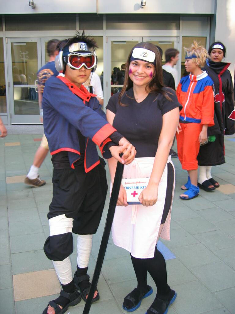 Naruto-Obito and Rin by Saki-Kun