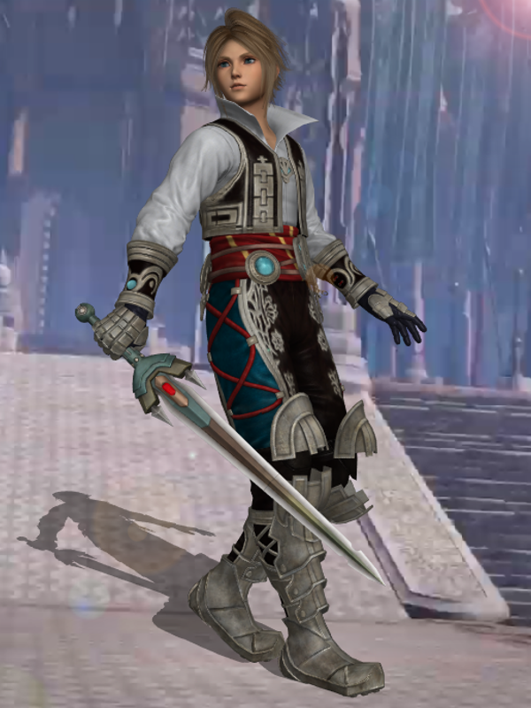 Dissidia NT - Vaan Conflicted Hero Alt by BurningEnchanter