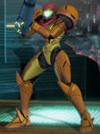 Super Smash Bros Ultimate - Samus by BurningEnchanter