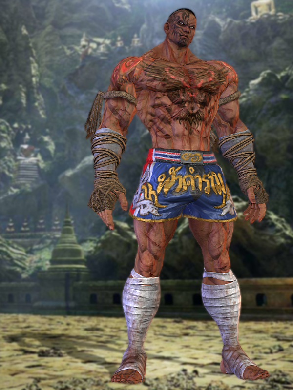 Tekken 7 Fahkumram By Burningenchanter On Deviantart