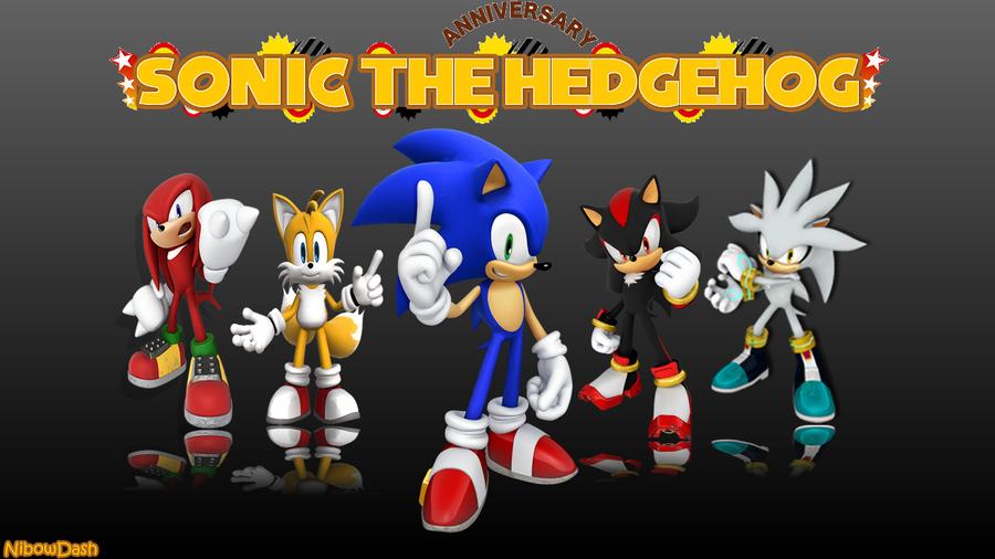 Sonic The Hedgehog Wallpaper HD by NibowDash on DeviantArt