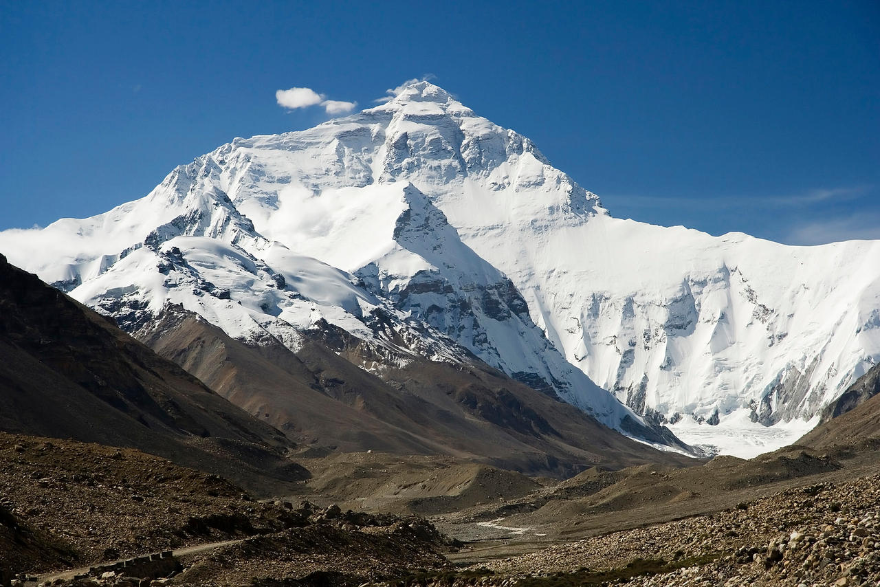 views from mount everest - HD1200×800