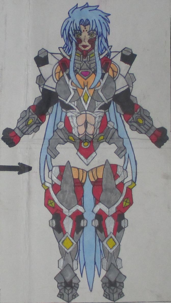 Ryoko's Super Masuchoushin Hybrid Form (Ryo-Ohko) by SolGravionMegazord