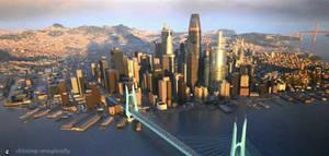 San Fransokyo 2 by SolGravionMegazord