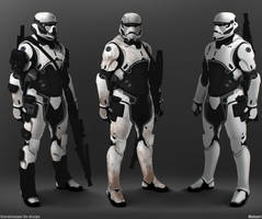 Zeon's First Order Stormtroopers 3 by SolGravionMegazord