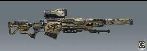 G-Force's CS-6 Longstrike Photon Blaster Rifles