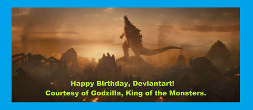 Happy 2020 Birthday Deviantart!